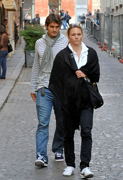 Federer Paris Fashion Week